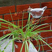 Стеклянная птица автоматического капельного полива горшечных растений полива контроллер
