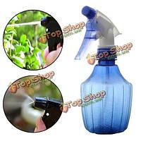300мл давление садоводство рука синий лейки пластик посадки окропление консервный инструмент