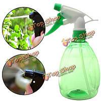 500мл давление садоводство рука зеленый лейки инструмент распылитель пластика посадки