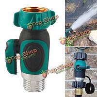 3/4-дюйма садовый шланг 1 ходовой запорный клапан водопроводная труба кран коннектору нам стандартную резьбу