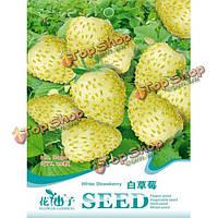 20шт белый клубника декоративное растение семена