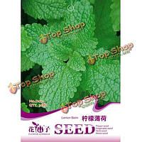 30 лимон мята семена китайской травяной медицины посадки семян