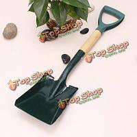 Остроконечное и плоское железо садоводство мастерок дама двора посадки инструмента