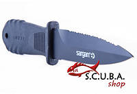 Нож для подводной охоты SARGAN Душман черненый