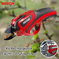 Devon 4V Перезаряжаемый электрический обрезку сдвига садоводство плодовые ветви режущего инструмента