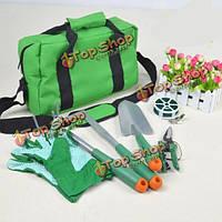 7шт набор fasite садово-огородный инвентарь костюм с удобная сумка для переноски инструментов сумки
