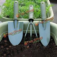 3шт садоводство набор инструментов лопаты грабли лопаты садовые инструменты