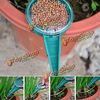 Регулируемый размер семенной бункер семена распространителем садоводство растения цветут сеялка хранения