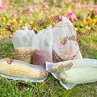 100шт многофункциональная замачивания семян мешки сада фрукты цветок растительном покрове анти-птица guazze нетто