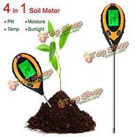 4в1  тестер почвы рН электронный анализатор влажности температуры