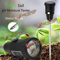 2в1 металла значение датчика зонда завод рН почвы тестер влаги садовый инструмент портативный испытания