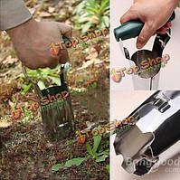 Стали сельскохозяйственных пересадка саженцев садовых инструментов сажалки