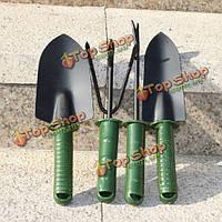 4шт набор инструментов садоводство садовые инструменты лопаты грабли лопаты вилка