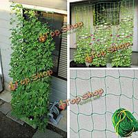 Вьющееся растение нейлона поддержки плетения сетки поддержки плодовые лозы сад овощей