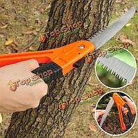 Садоводство обрезка складной ручной пилой бытовой деревообрабатывающий ветка режущий инструмент