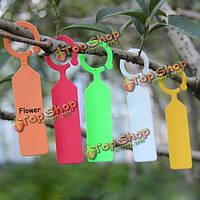 50шт висит завод водонепроницаемый теги цветок сада инструменты растительное посадки этикетки
