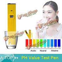 Карманный цифровой pH-метр тест-ручка TDS тестер многофункциональный тестер качества воды