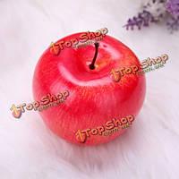 Искусственный яблоко поддельные пены моделирования плодов яблони домашней кухне украшения обучения реквизит