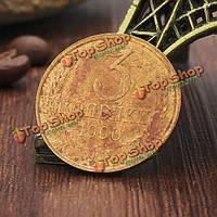 Советский Союз в 1990 году CCCP тираж монеты 3 Габи латуни собирать монеты копирования