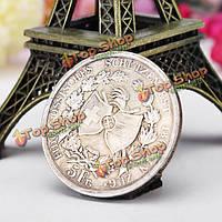 Швейцария имитация монеты Доминиканской Республики памятная монета