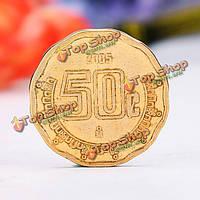 10шт смешанная иностранная валюта монеты анциркулейтед монеты для коллекции