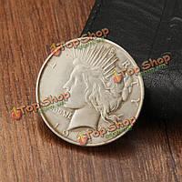 1922 свобода мир денщик два лица имитация монета копия собирать валюту