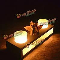 Подсвечник деревянный ангел стеклянные подсвечники украшения для дома