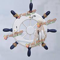 Ретро модель корабль руля рулевого главная украшения стены