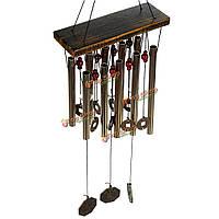 10 металлические трубы колокольчиков двор открытый Windows домашнего декора дар висячие украшения 65см