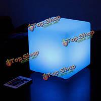 Творческий квадрат дистанционного управления с изменением цвета LED свет бар КТВ домашняя вечеринка свет декор