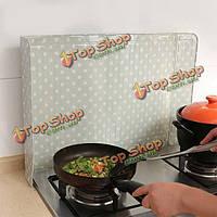 45x80см алюминиевая фольга инструменты кухня против маслоотражатель изоляции фольги наклейки ландшафтный дизайн