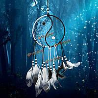 Dreamcatcher китайские тайцзи Ловец снов окно стене комнаты висит украшения декора подарки