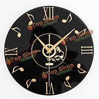 Старинные виниловые записи CD часы настенные декоративные часы грампластинка домашний бар декор стен