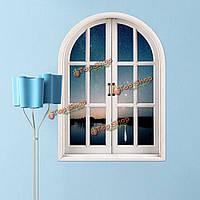Звездный Sky 3d искусственные Вид из окна вол наклейки на стены с видом на озеро номер наклейки стены дома подарок декора