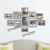 1 комплект пляж сочетание 3D фото наклейки на стены картины настенной живописи наклейки домашнего декора стен