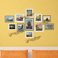 1 комплект 3D парусной фото наклейки для стен картина навигации сочетание картины наклейки стены дома декора