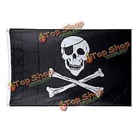 Пиратский флаг 150 х 90 см