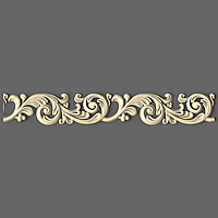 Резной багет из ясеня   50мм