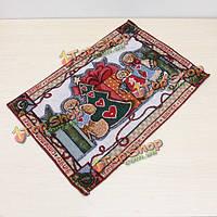 Рождественский подарок хлопка столовых стол коврик скатерть