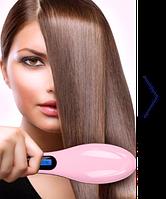Расческа-выпрямитель Fast Hair Straightener для быстрого выравнивания волос. Отличное качество. Код: КДН607