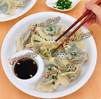 Слейте воду клецки блюдо еда класса pp двойной сливной блюдо уксус блюдо с фруктами