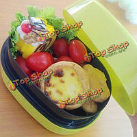 Пластик переносное устройство для хранения коробка обеда Bento коробки пищевых контейнеров