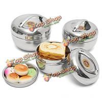 Японская форма яблока теплоизоляция коробка для завтрака из нержавеющей стали контейнер еды бенто коробка
