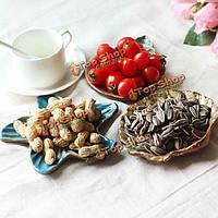 Творческая керамическая кухня домашняя раковина морская звезда закуска фруктовый уксус соусом блюдо