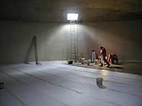 Обеззараживание и зачистка резервуаров бетонных для хранения хозпитьевой воды при помощи импортного оборудован