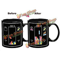 Керамический шарик строительный блок кружку кофе чая изменение цвета чашки
