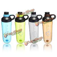Измерения герметичен портативный спортивные бутылки пластиковые воды 1500ml большой емкости