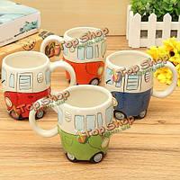 Творческая керамическая чашка кофе прекрасный автофургоне ван ретро автобус кружка
