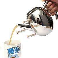 1000мл из нержавеющей стали чай чайник кофейник с фильтром