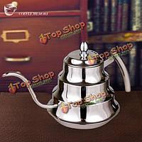 1200мл перколятор кофе нержавеющей стали капать чайник чайник кофейник